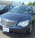 chrysler sebring 2007 dark blue sedan touring gasoline 4 cylinders front wheel drive 4 speed automatic 99208