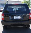 jeep patriot 2010 black suv sport gasoline 4 cylinders 4 wheel drive 80126