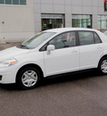 nissan versa 2010 white sedan 1 8 gasoline 4 cylinders front wheel drive automatic with overdrive 56001