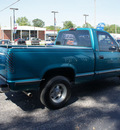chevrolet c k 1500 series 1994 teal pickup truck c15 silverado gasoline v6 rear wheel drive automatic 47172