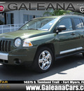 jeep compass 2007 green suv limited gasoline 4 cylinders 4 wheel drive automatic 33912