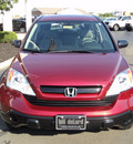 honda cr v 2009 red suv lx gasoline 4 cylinders front wheel drive automatic 45036