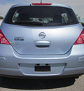 nissan versa 2011 lt  blue hatchback 1 8 gasoline 4 cylinders front wheel drive automatic with overdrive 62863