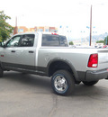 ram ram pickup 2500 2012 bright silvergray slt diesel 6 cylinders 4 wheel drive automatic 80301