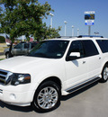 ford expedition el 2011 white suv limited flex fuel 8 cylinders 2 wheel drive automatic 76205