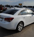 chevrolet cruze 2012 summ white sedan ls gasoline 4 cylinders front wheel drive automatic 76087