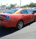 mitsubishi galant 2008 red sedan ralliart v6 gasoline 6 cylinders front wheel drive 5 speed automatic 55391