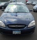 ford taurus 2001 dk  blue sedan ses gasoline 6 cylinders front wheel drive automatic with overdrive 55811