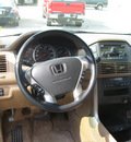 honda pilot 2003 gold suv ex l gasoline 6 cylinders sohc all whee drive automatic 45840