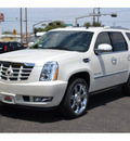 cadillac escalade 2011 white suv premium flex fuel 8 cylinders all whee drive automatic 76903