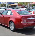 cadillac cts 2011 red sedan 3 0l luxury gasoline 6 cylinders rear wheel drive automatic 76903