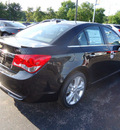 chevrolet cruze 2012 black sedan ltz gasoline 4 cylinders front wheel drive automatic 60007
