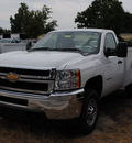 chevrolet silverado 2500 2011 white 8 cylinders automatic 27591