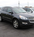 chevrolet traverse 2011 gray ltz gasoline 6 cylinders front wheel drive automatic 27591