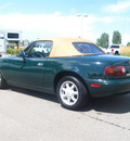 mazda mx 5 miata 1991 green gasoline 4 cylinders rear wheel drive 5 speed manual 80504
