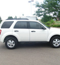 ford escape 2009 white suv xlt gasoline 6 cylinders 4 wheel drive automatic 80504