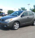 toyota matrix 2006 dk  gray hatchback gasoline 4 cylinders front wheel drive automatic 80504