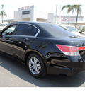honda accord 2011 black sedan se gasoline 4 cylinders front wheel drive automatic 91761