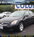 nissan altima 2009 black sedan 2 5 s gasoline 4 cylinders front wheel drive automatic 98632
