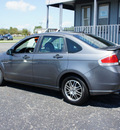 ford focus 2010 dk  gray sedan se w app  pkg  gasoline 4 cylinders front wheel drive automatic 47172