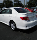toyota corolla 2010 white sedan s gasoline 4 cylinders front wheel drive automatic 32447