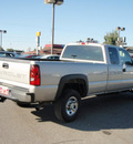 chevrolet silverado 2500hd classic 2007 pewter pickup truck ls gasoline 8 cylinders rear wheel drive automatic with overdrive 99336