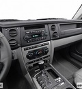 jeep commander 2006 black suv gasoline 6 cylinders 4 wheel drive shiftable automatic 98901