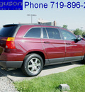 chrysler pacifica 2008 deep crimson suv touring gasoline 6 cylinders front wheel drive automatic 80910