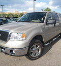 ford f 150 2007 gold xlt flex fuel 8 cylinders 4 wheel drive automatic 81212