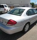 ford taurus 2005 silver sedan sel gasoline 6 cylinders front wheel drive automatic 81212