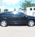 dodge caliber 2007 black hatchback sxt gasoline 4 cylinders front wheel drive automatic 80504