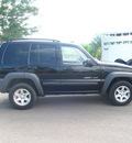 jeep liberty 2002 black suv sport gasoline v6 4 wheel drive automatic 80504