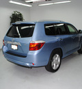 toyota highlander 2008 blue suv limited gasoline 6 cylinders front wheel drive automatic 91731