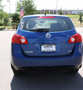 nissan rogue 2010 blue wagon s gasoline 4 cylinders automatic 80126