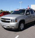 chevrolet avalanche 2007 silver pickup truck ls 1500 flex fuel 8 cylinders 4 wheel drive automatic 80126