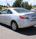 honda civic 2008 silver coupe lx gasoline 4 cylinders front wheel drive manual 80126