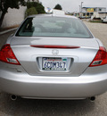 honda accord 2007 silver coupe exv6navi gasoline 6 cylinders front wheel drive automatic 93955