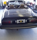 alfa romeo spider 1981 black veloce gasoline 4 cylinders rear wheel drive manual 97216