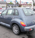 chrysler pt cruiser 2002 blue wagon gasoline 4 cylinders front wheel drive 5 speed manual 97216