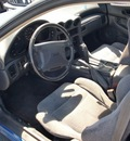 dodge stealth 1991 blue hatchback gasoline 6 cylinders front wheel drive not specified 97216