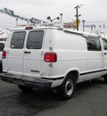 dodge ram cargo 2003 white van 2500 gasoline 8 cylinders rear wheel drive automatic with overdrive 97216