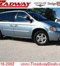 dodge grand caravan 2005 blue van sxt gasoline 6 cylinders front wheel drive automatic 45840