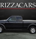 ford ranger 2001 black xlt 4x4 gasoline 6 cylinders 4 wheel drive automatic with overdrive 60546