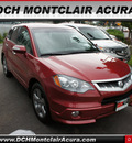 acura rdx 2007 dk  red suv w tech gasoline 4 cylinders all whee drive automatic 07044