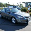 honda accord 2009 polished metal sedan ex l v6 gasoline 6 cylinders front wheel drive 5 speed automatic 07724