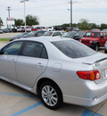 toyota corolla 2009 silver sedan s gasoline 4 cylinders front wheel drive automatic 76210