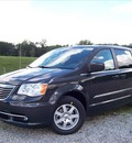 chrysler town and country 2012 dk  gray van touring flex fuel 6 cylinders front wheel drive not specified 44024