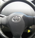 toyota yaris 2008 black sedan gasoline 4 cylinders front wheel drive automatic 33884