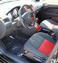 dodge caliber 2009 black hatchback sxt gasoline 4 cylinders front wheel drive cont  variable trans  44024