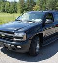 chevrolet trailblazer 2004 black suv lt gasoline 6 cylinders 4 wheel drive 4 speed automatic 44024